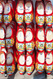 Dutch wooden shoes Netherlands, Amsterdam Royalty Free Stock Photography