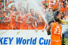 Dutch World Champions Stock Photography