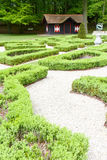 Dutch Zen Garden Royalty Free Stock Photo