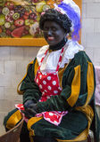Dutch zwarte piet Stock Image
