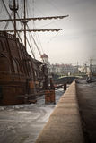 dutchman latania statek obrazy royalty free