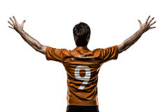 Dutchman soccer player Royalty Free Stock Images