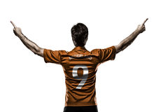 Dutchman soccer player Royalty Free Stock Photography