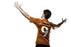 Dutchman soccer player Royalty Free Stock Photos