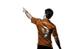 Dutchman soccer player Stock Photography