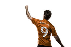Dutchman soccer player Royalty Free Stock Photo