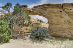 Dutchmans Arch in the San Rafael Swell of Utah Royalty Free Stock Photography