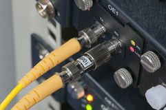 Dutry fiber optic Stock Images