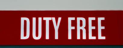 duty-free Стоковая Фотография
