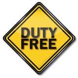 Duty free Στοκ φωτογραφία με δικαίωμα ελεύθερης χρήσης