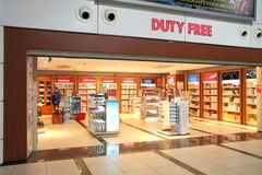 Duty free. Antalya. Turkey. Royalty Free Stock Image