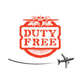Duty Free. Author's illustration in Stock Image