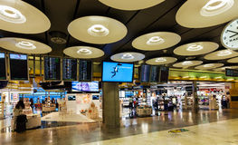 Duty free in Barajas Airport Royalty Free Stock Photo