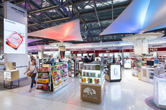 Duty free cosmetics luxury boutiques, Bangkok Royalty Free Stock Photography