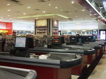 Duty Free at Dubai International Airport Stock Image
