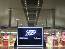 Duty Free at Dubai International Airport Royalty Free Stock Photo