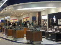 Duty Free at Dubai International Airport Stock Photography