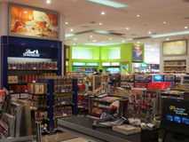Duty Free at Dubai International Airport Royalty Free Stock Photography