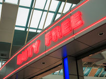 Duty Free Stock Photo