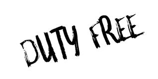 Duty Free rubber stamp Stock Photo
