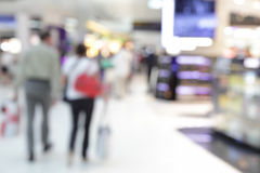 Duty free shop in airport Royalty Free Stock Photos