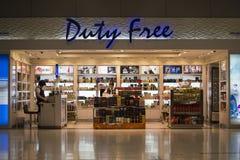 Duty free shop Stock Photography