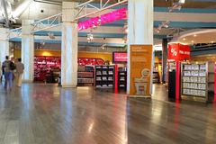 Duty free shop in istambul Royalty Free Stock Images