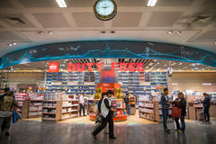 Duty Free shop Stock Images