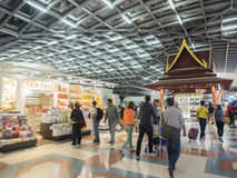 Duty free shop at Suvanaphumi Airport Royalty Free Stock Images