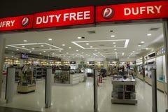 Duty free shop of Viru-Viru Airport, Santa Cruz, Bolivia Stock Photography