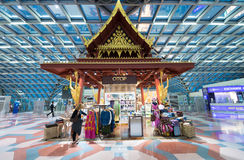 Duty free shopping, Bangkok Stock Images