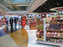 Duty Free shopping Royalty Free Stock Images