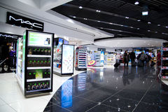 Duty Free Shopping, Stanstead. Stock Photography