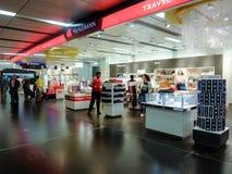Duty-free-Shops Stockfoto