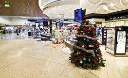 Duty free shops at Eleftherios Venizelos airport Greece Stock Photo