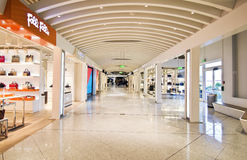 Duty free shops at Eleftherios Venizelos airport Greece Royalty Free Stock Image