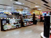 Duty free shops Royalty Free Stock Image