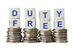 Duty Free Royalty Free Stock Photography
