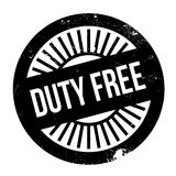 Duty free stamp Royalty Free Stock Photo