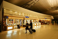 Duty Free at Suvarnabhumi Airport Royalty Free Stock Images