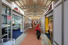 Duty-free zone Tasik Kenyir. HULU TERENGGANU, MALAYSIA - August 15,2017: Pengkalan Gawi  duty-free zone Tasik Kenyir officially opened by MB Ahmad Razif on Stock Photography