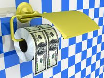Duur toiletpapier Stock Foto