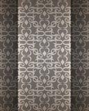 Duur Victoriaans patroon in retro uitstekende stijl Stock Foto's