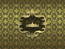 Duur Victoriaans patroon in retro uitstekende stijl Stock Afbeeldingen
