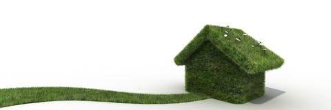 Duurzaam huis Royalty-vrije Stock Foto's
