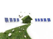 Duurzaam huis Stock Foto's