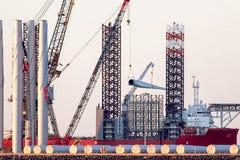 Duurzaamheid en van de schone energiemacht ontwikkeling Investering royalty-vrije stock afbeelding