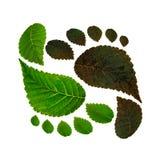 Duurzaamheid van ecologie tegen milieuvervuiling Royalty-vrije Stock Foto's