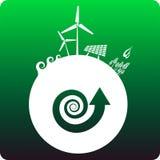 Duurzame energie Royalty-vrije Stock Afbeeldingen
