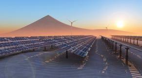 Duurzame energie Stock Foto's